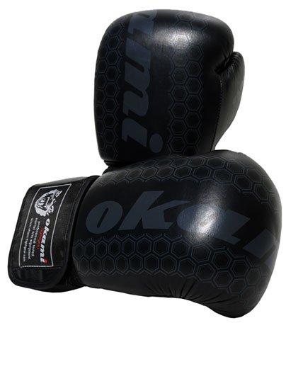 Boxing-Gloves / Boxhandschuhe Test: OKAMI Fightgear Elite Boxing Gloves BLACK EDITION