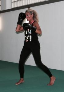 Kickbox-Training Schattenboxen