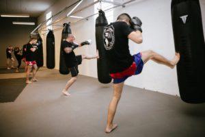 Muay Thai | Sandsack Training