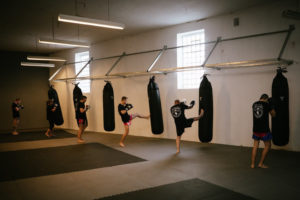 Muay Thai | Sandsack Training