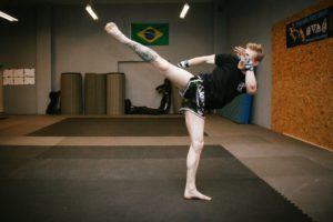 Muay Thai | Schattenboxen Highkick