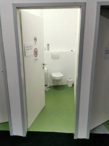Dein Gym in Essen   Toiletten