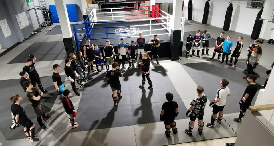 Kamsportschule Essen Boxring